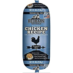 Redbarn Pet Products Chicken and Liver Food Roll 4 lb. roll 75