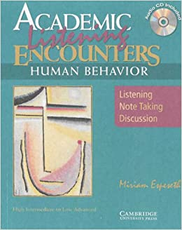 Book Academic Encounters: Human Behavior 2 Book Set (Student's Reading Book and Student's Listening Book with Audio CD)