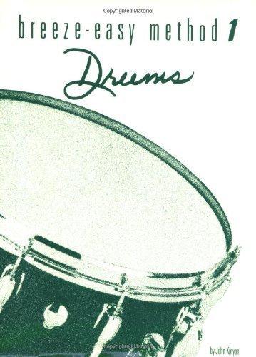 Breeze Easy Drums, Book 1 by John Kinyon (1979-09-01)