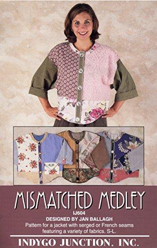 Medley Pattern - Indygo Junction Mismatched Medley Jacket Pattern