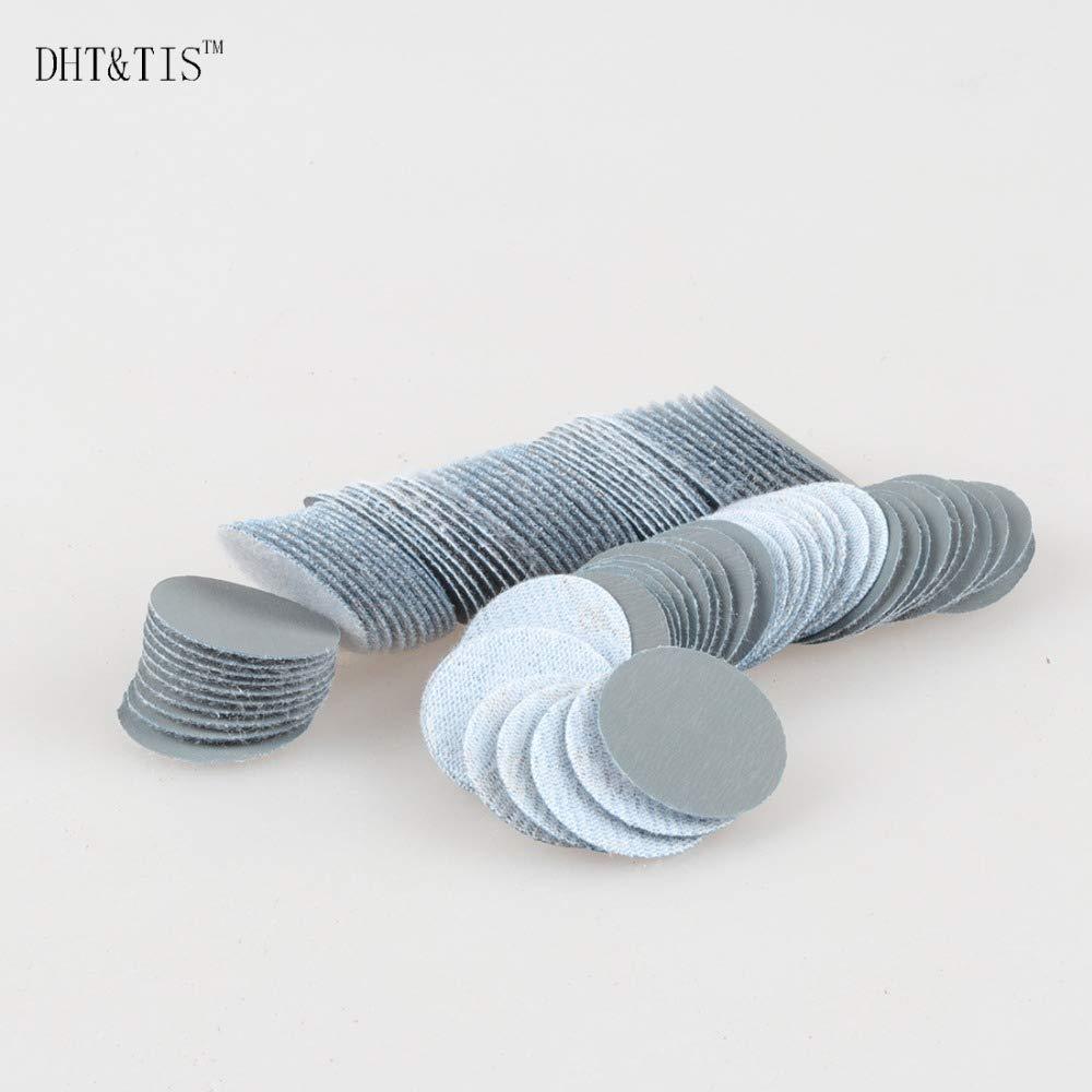Grit: P1200 Maslin DHT/&TIS 500 pieces A LOT 1//25mm Mini Sanding Disc Round Abrasive Dry Sandpaper Abrasive Disc