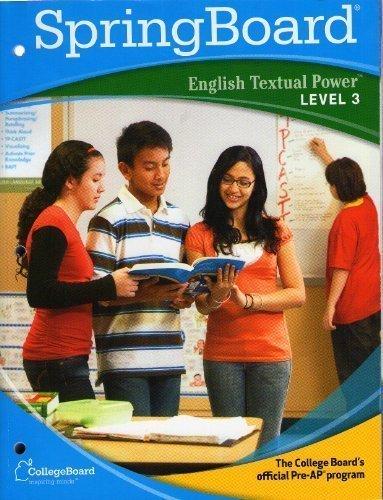 SpringBoard English Textual Power Level 3 (Level 3)