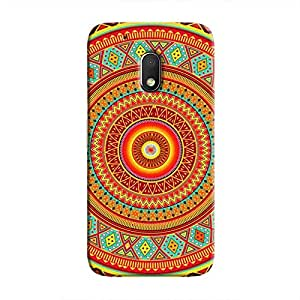 Cover It Up - Bright Indian Ceiling Moto G4 PlayHard Case
