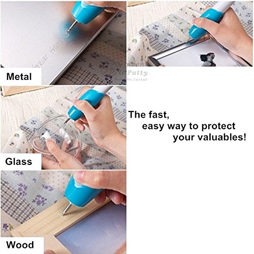 Engraving Pen for scrapbooking tools Stationery DIY Engrave it Electric Carving Pen Machine Graver Tool Engraver - Store It Engrave