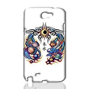 chinese dragon tattoo Photo Hard 3D Rough Case , Fashion Image Case Diy, Personalized Custom Durable 3d Samsung Galasy S3 I9300