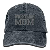 Arsmt Wrestling Mom 3 Denim Hat Adjustable Men's Fitted Baseball Caps