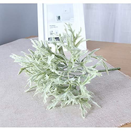MARJON-FlowersArtificial-Flowers-2-Branch-Fake-Flower-Fake-Plants-Decora-Classic-Stage-Props-Oriental-Plants-Christmas-Tree-Tabletop-FlowerGreen