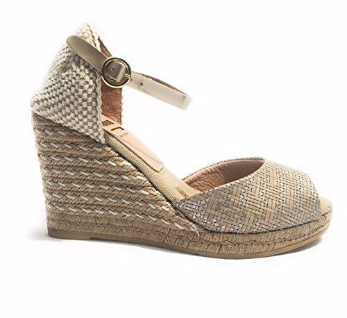 KANNA  Martinica Damen Sandalen beige beige EUR 36