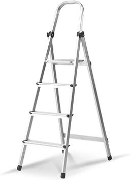 C-J-Xin Escalera de metal del hogar, Triángulo de escalera mecánica Decoración Escalera Cafetería/restaurante occidental/té restaurante Las escaleras de tijera Escalera de casa: Amazon.es: Bricolaje y herramientas
