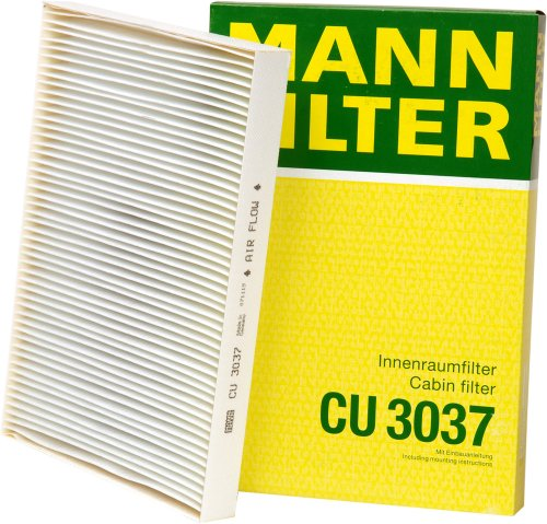 Mann-Filter CU 3037 Cabin Filter for select  Audi models