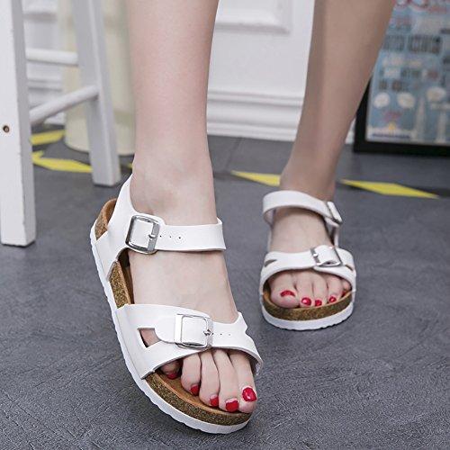 SK Studio - Zapatos con tacón Mujer Weiß