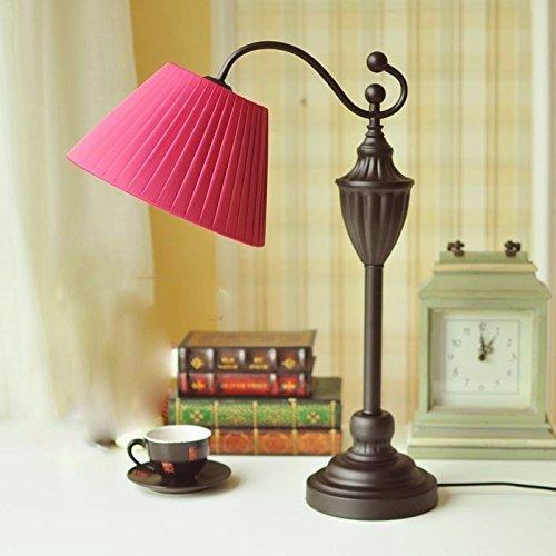 Unbekannt Set Tischlampe-Schlafzimmer Kopf Lampe kontinentalen modernen amerikanischen Stil Lampen Wohnzimmer Lampe Studie Lampen
