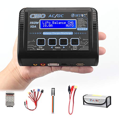(LiPo Battery Balance Charger Discharger 150W 10A AC/DC for NiCd Li-ion Life NiMH LiHV PB Smart Battery)