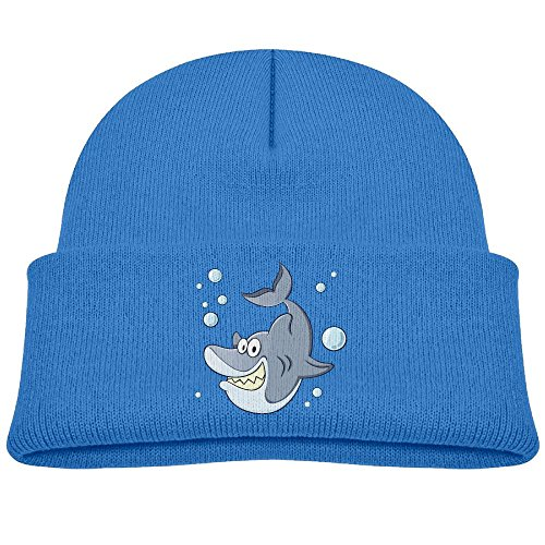 Mingde Yy Cartoon Shark Funny Character Child Warm Knitted Beanie Cap Wool Cotton Cap Skull Hat