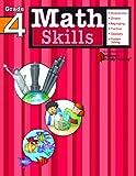 Math Skills: Grade 4 (Flash Kids Harcourt Family Learning)
