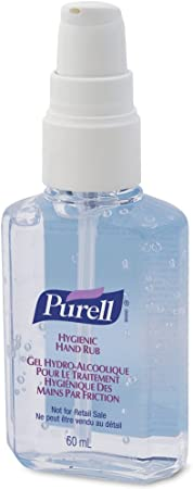 5 Purell Personal Hygienic Instant Hand Sanitiser Gel Rub Pump