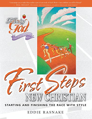 First Steps for the New Christian (Following God Discipleship Series)