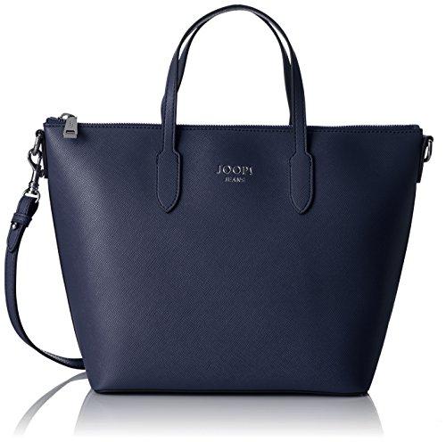 Joop! Saffiano Jeans Suri Handbag Mhz, Borse a secchiello Donna Blu (Dark Blue)