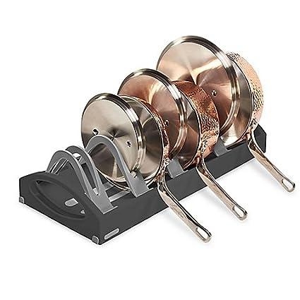 Kitchen Bakeware Rack Holder Cabinet Pantry Organizer Dish Pan Carrier Divider