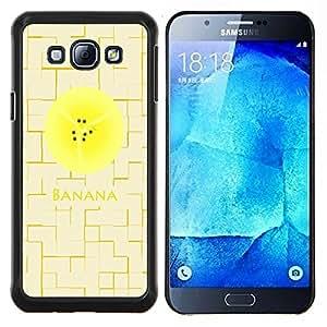 Dragon Case - FOR Samsung Galaxy A8 A8000 - putting in more effort? - Caja protectora de pl??stico duro de la cubierta Dise?¡Ào Slim Fit