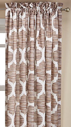Serenta Honor Printed Curtain and Pillow Set, 70″ x 84″, Wind Chime