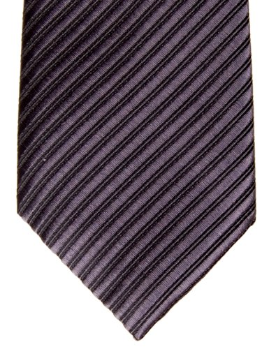 Retreez Various Colors Black Woven Charcoal with Pre Tie Stripe Textured Boy's tied rrOq8