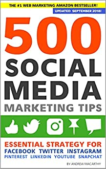 500 Social Media Tips cover art