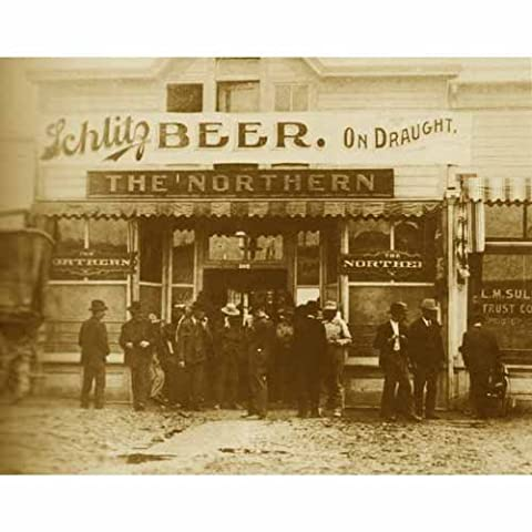 Quality digital print of a vintage photograph - The Northern Saloon - Goldfield, Nevada Circa 1906. Sepia Tone 8x10 inches - Luster - Sepia Photo Print