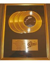 Michael Jackson Billie Jean 45 X3 Platinum Record Award Epic Records