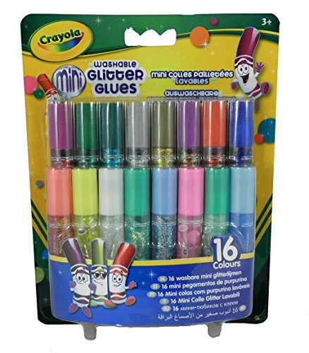 Crayola Washable Glitter Sparkly Colors product image