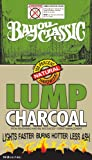Best The  Lump Charcoals - Bayou Classic 18-Pound Bag Natural Lump Charcoal Review