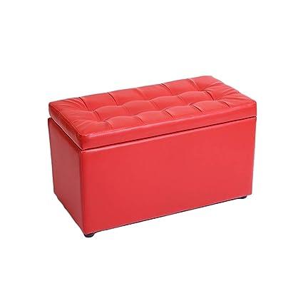 Amazoncom Mmli Footstool Storage Ottoman Folding Toy Box Chest