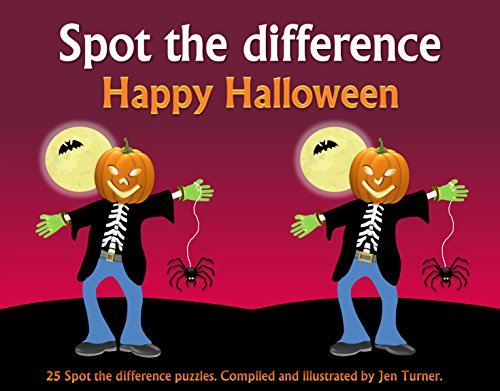 Spot The Difference - Happy Halloween for $<!---->