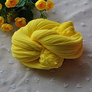 ShineBear Stocking Flower Material Silk Flower Accessories Nylon Flower Materials Making Artificial Flores Ronde Home Decoration Flowers - (Color 6