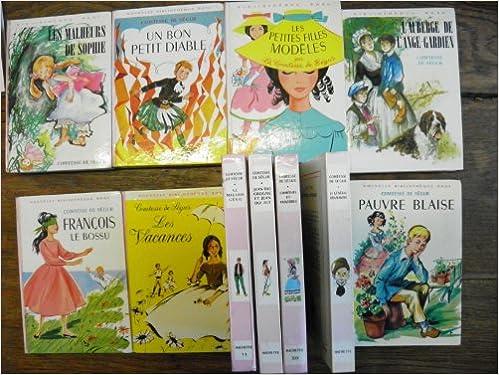 Amazon Fr Lot De 11 Livres De La Comtesse De Segur