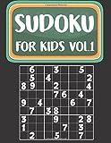 Sudoku for Kids: Sudoku Book for Kids Age 6-12 Puzzles and Activity Book for Kids (Sudoku Puzzles Book for Kids)