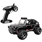 proportion wheel - Remote Control Car 1:22 Full Proportion RC Rock Crawler 2.4GHz 4-wheel Drive High-speed SUV Racing Drift Model with USB Charger BG1511, Black