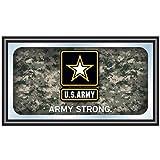 fan wall mirror - United States Army Framed Logo Mirror