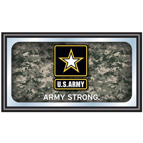 (United States Army Framed Logo Mirror)
