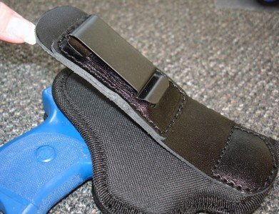 """TUCK TUCKABLE INSIDE THE PANTS ITP IWB ITW HOLSTER FOR RUGER SR9C SR40C COMPACT 3.5""""(HMTUCKSZ4)"""