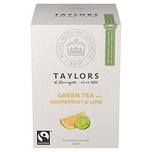 Taylors Green Grapefruit Lime Teabags product image