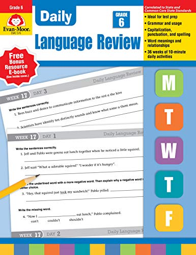 Daily Language Review, Grade 6 ()
