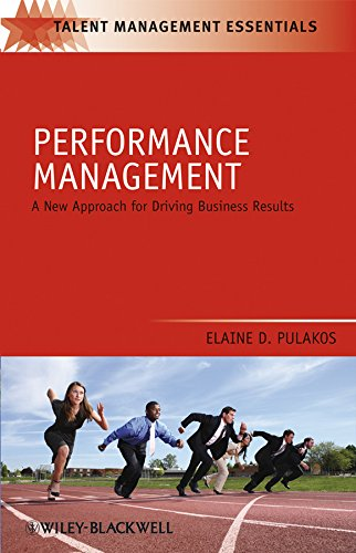 Performance Management: A New Approach for Driving Business Results
