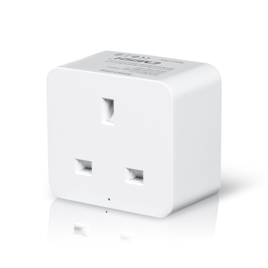 WiFi Smart Plug, Hantwin Mini Smart Socket Compatible with Alexa Google Home and IFTTT, Timer Switch Plug Control Your Smart Home Devices from Anywhere