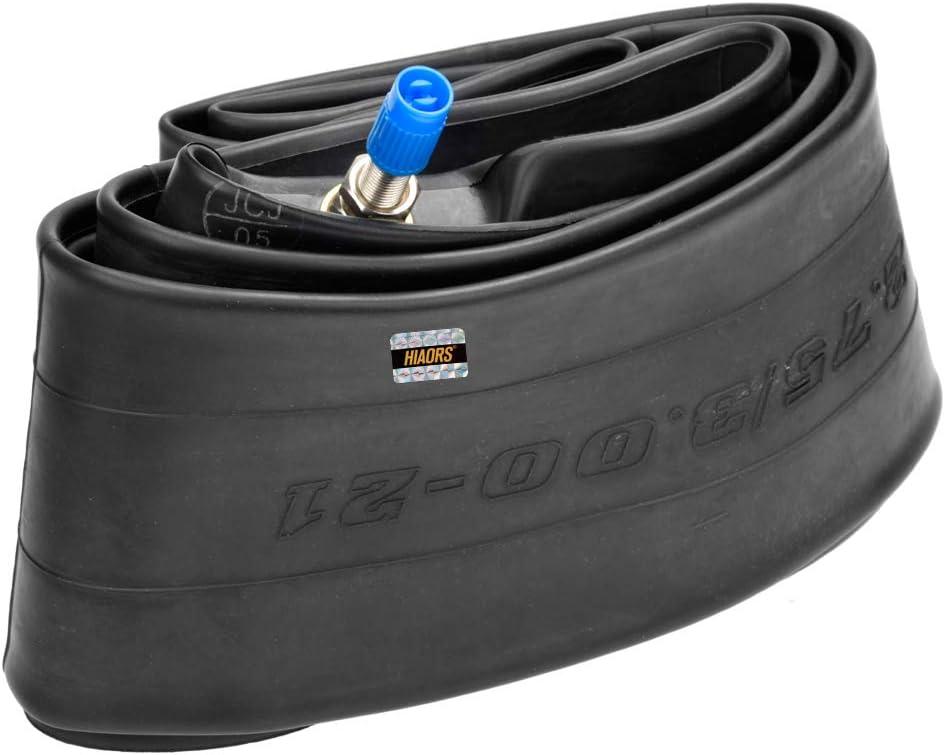HIAORS 2.75//3.00-19 275//300-19 Inner Tube Straight Valve Stem for 90//90-19 3 Motorcycle Pit Dirt Bike Pack of 2