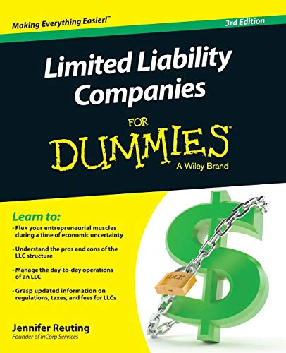 Limited Liability Companies For Dummies (Setting Up A Business From Home Ideas)