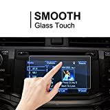 2014-2018 Toyota 4Runner Entune 6.1 Inch/2013 Subaru BRZ Car Navigation Screen Protector, LFOTPP Clear TEMPERED GLASS Infotainment Display In-Dash Center Touch Screen Protector