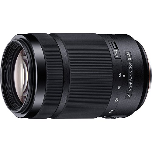 Sony 55-300mm F/4.5-5.6 DT A-Mount Zoom Lens for Sony Alpha Digital SLR Cameras