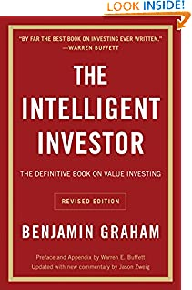 Benjamin Graham (Author), Jason Zweig (Author), Warren E. Buffett (Collaborator) (1927)  Buy new: $11.99