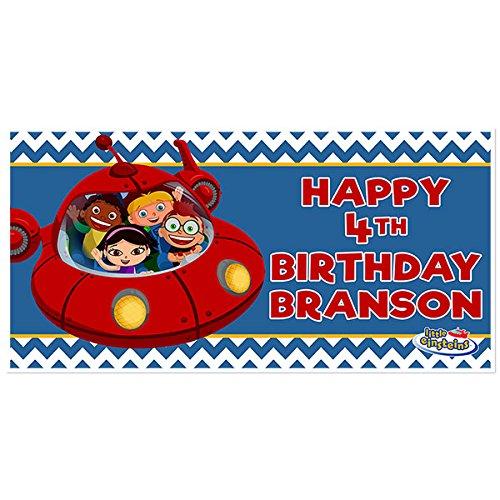 (Little Einsteins Birthday Banner Party Decoration)